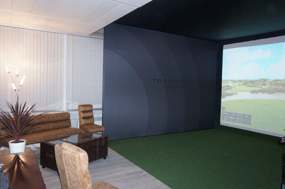 Intrago TrackMan Indoor Golf München